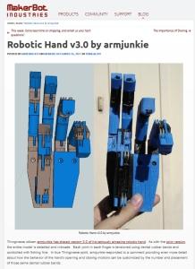 Makerbot Blog