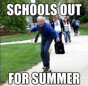 Schools out for summer