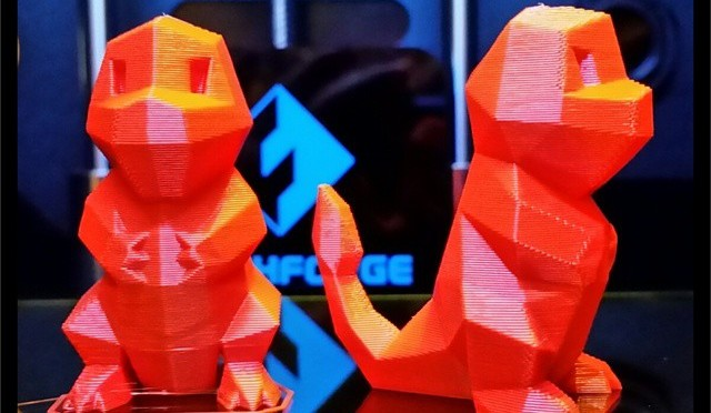 Double your fun. 3D Printed Charmanders