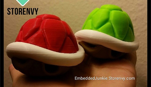 Which shell do you like better? Red? Green?