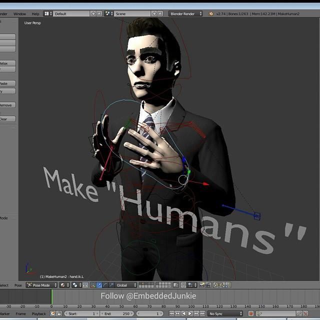 makehuman – EmbeddedJunkie