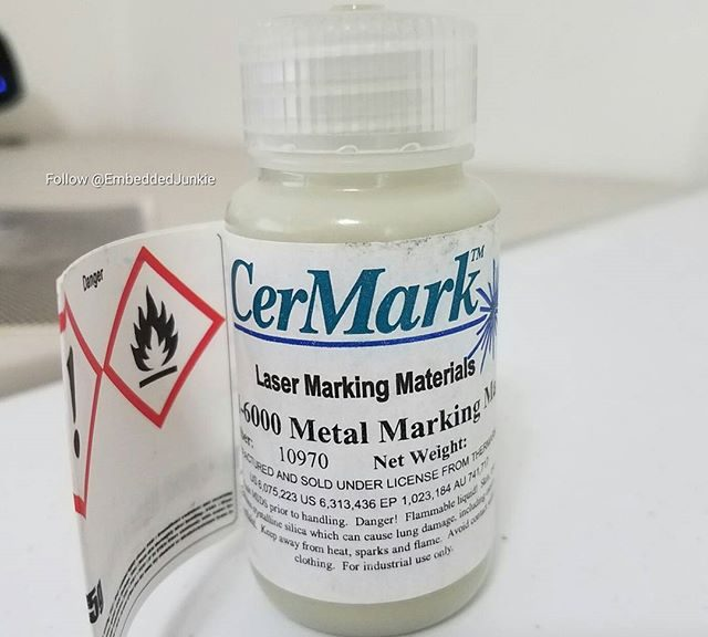 CerMark for metal marking. More laser goodies.